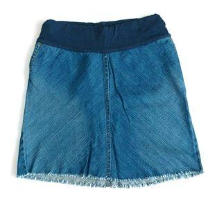 GAP Maternity Denim Skirt Size 4